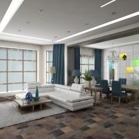 Современный дизайн интерьера дома №1
