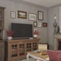 Проект интерьера квартиры в стиле Прованс 2019 г